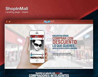ShopInMall - Webiste Design