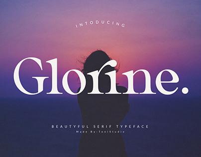 Glorine_Beautyful typeface