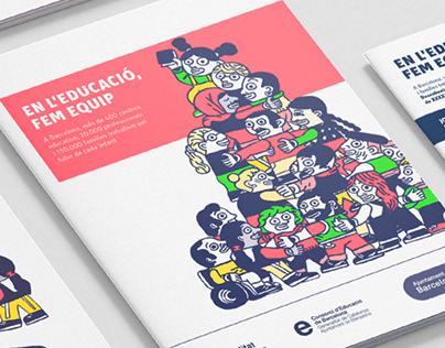 Campaña de preinscripción escolar de Barcelona
