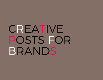 POST A POST Creative Posts for Brands