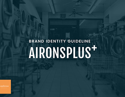AIRONS PLUS - Logo and Brand Identity Guideline