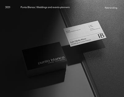 PUNTO BLANCO | REBRANDING 2021