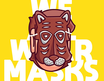 WE ALL WEAR MASKS 🐅