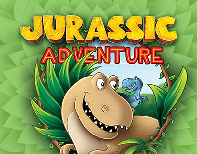 'Jurassic Adventure' Children's Book