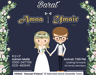 2020 Latest Wedding Card Design Ideas by SidRehmani