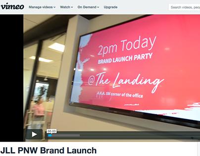 Internal brand launch