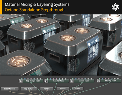Mat Mixing & Layering in Octane: Standalone Stepthrough