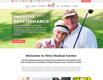 Web Design - Hino Medical Center