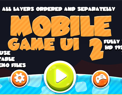 Mobile game UI #2