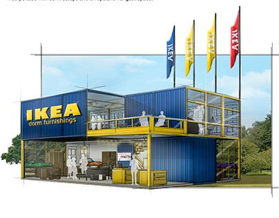 IKEA College Pop-Up Shop