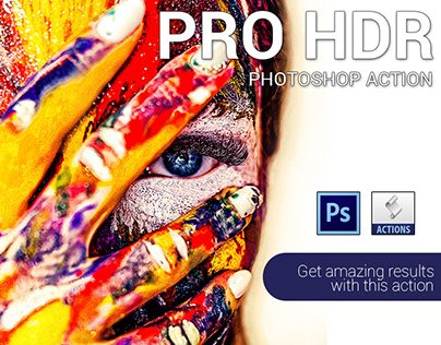 Pro HDR Photoshop Action Free