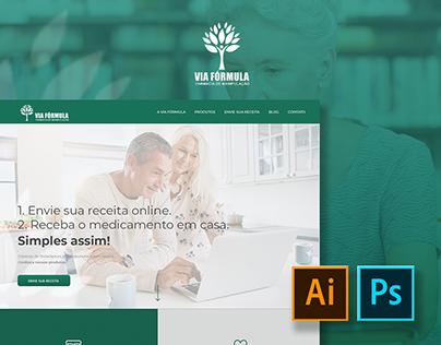 Hotsite: Via Fórmula