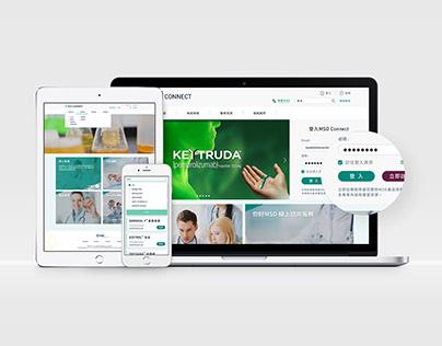 MSD Connect|Web Design