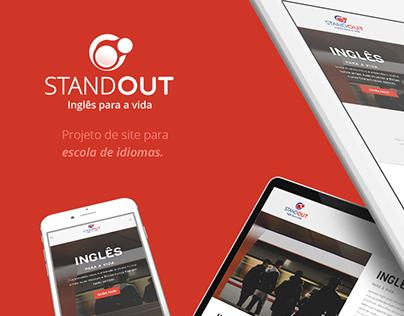 Site: Standout Idiomas