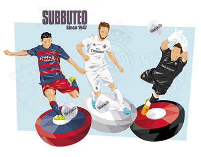 Subbuteo   Illustration and Packaging design