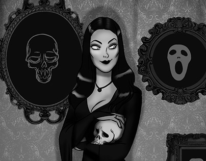 Morticia Addams FAN ART