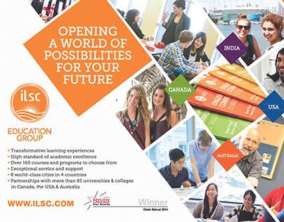 ILSC Education Group—Advertisements