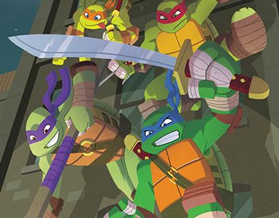 Teenage Mutant Ninja Turtles Illustration