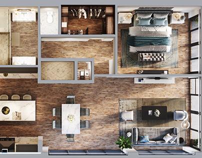 Melbourne Beach- Interior Design& Visual