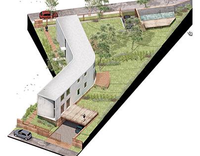 Housing Las Delfinas Andres Alonso arquitecto