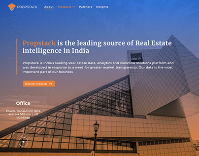 Propstack Website Re-Design