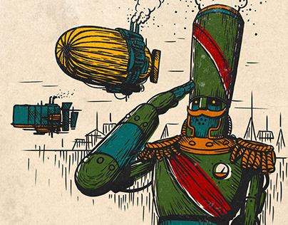 Стимпанк открытки / Steampunk postcards