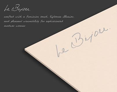 Packaging Design for Le Bijou