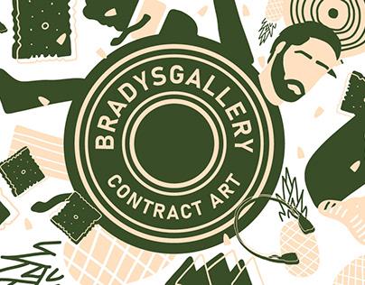 BradysGallery Branding