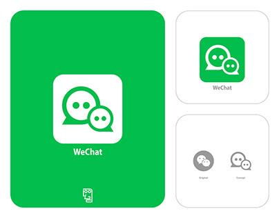 WeChat Logo Redesign