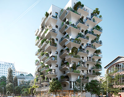 Residential building in Paris