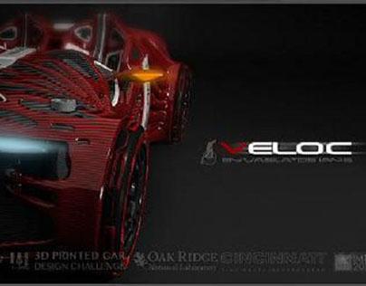 Veloc 3D Printed Car
