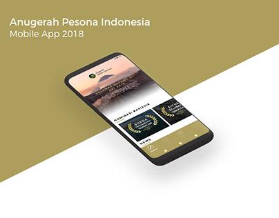 KEMENPAR Anugerah Pesona Indonesia (API) 2018 MobileApp