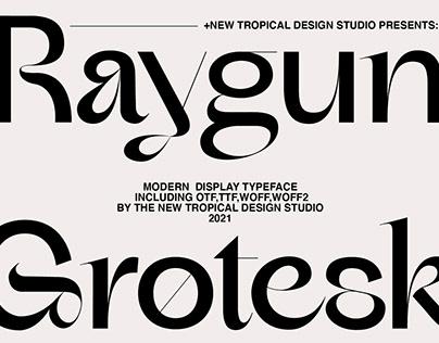 RAYGUN - Modern Typeface