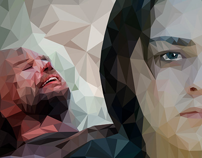 Low Poly Portrait - Game Of Thrones
