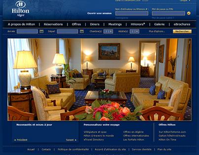 Website - Hilton Alger