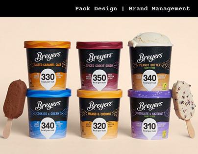 Breyers - New Pack Design