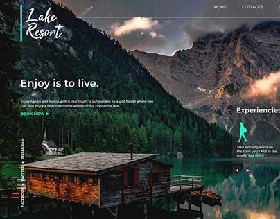Lake Resort Concept