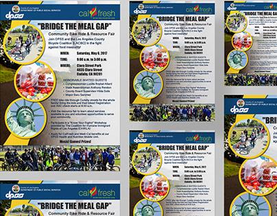 BRIDGE THE MEAL GAP Community Bike Ride & Resource Fair