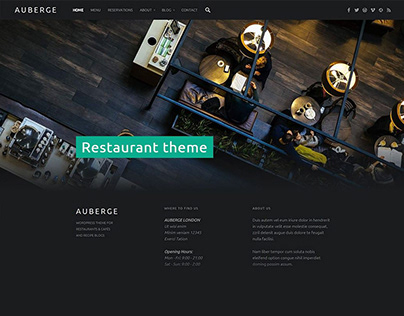 30+ Free WordPress Themes with Creative User Interface