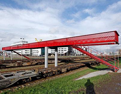 Waalhaven footbridge, Rotterdam