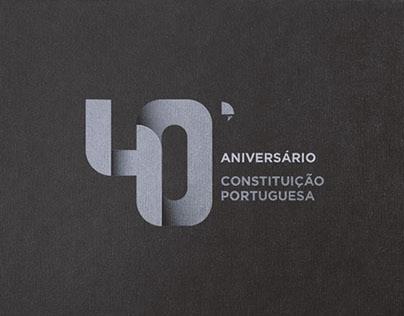 40º aniversário   Constituição Portuguesa