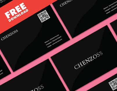 Chenzoss Business Card Free Mockup 2