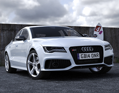 Audi Rs7 - 3D Environment