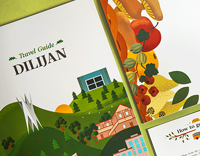 Print Materials for Dilijan Tourist Information Center