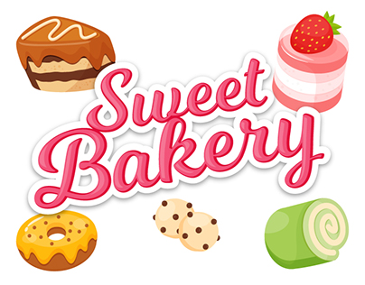 Sweet Bakery Sticker