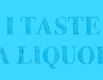 I Taste a Liquor Never Brewed