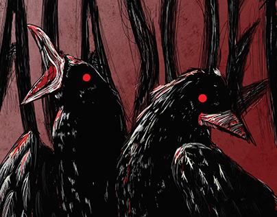 Two-Headed Raven