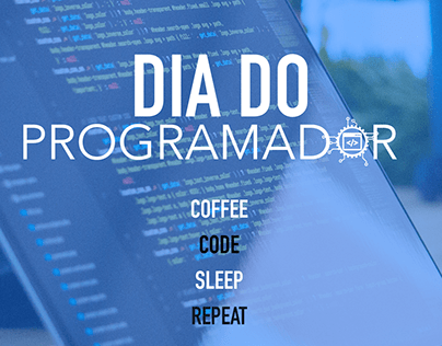 Dia do Programador - Arte para Stories