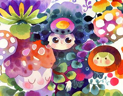 Fantastical Flora & Fauna - Sprouts