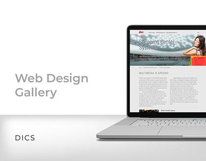 Web Design Gallery. DICS.